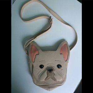 Cute Aldo Frenchie French Bulldog Crossbody Bag